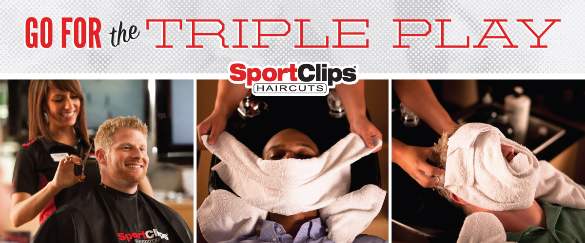 The Sport Clips Haircuts of Rocky River  Triple Play
